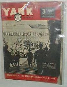 Yank the army weekly, British edition, Aug. 20, 1944, Vol. 3, No 10