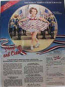 Shirley Temple Collector Plate Ad