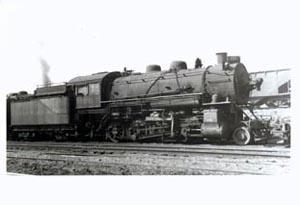 Railroad Train Photo G C&O Ohio. Location Toledo, Ohio