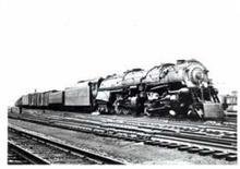 Northfolk & Western #1207 Class A RR Train photo