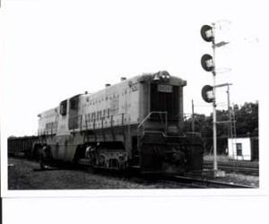 EJ & E #909 RR Train Photo