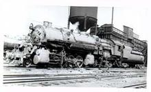 RR Train Photo in Glennwood Pennsylvania 1940