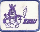 Taw railroad patch, mint condition