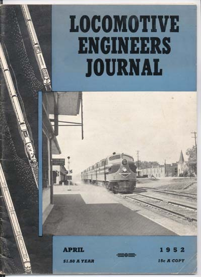Locomotive Engineers Journal 1952 magazine