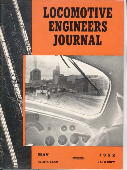 Locomotive Engineers Journal May 1952