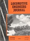 Locomotive Engineers Journal Oct1950 magazine