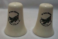 Air Force Museum Salt & Pepper Shakers