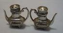 Metal Coffee Pots Illinois Souvineer S&P
