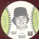 Baseball Burger Chef Card Moore