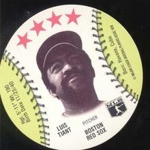 Baseball Ice cream Cup Cap Card Tiant