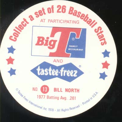 Baseball Ice cream Cup Cap Card North