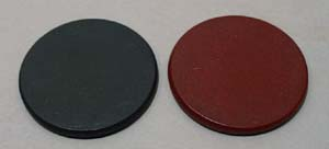 Pair of Bakelight Game Chips