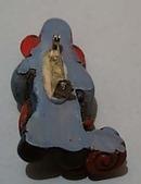 Fireman Statue Pin