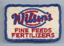 Wilson's Fine Feeds Fertilizers patch