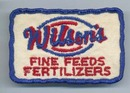 Wilson's Fine Feeds Fertilizers patch