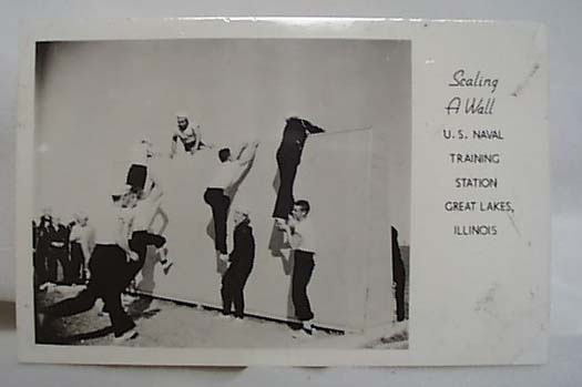 WWII Navy PC Scaling Wall 1943 Great Lakes