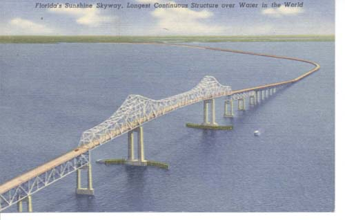 Sunshine Skyway, connect St Petersburg with M