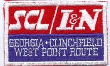 S C L , L & N, Georgia Clinchfield railroad patch