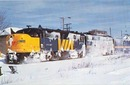 Ocean Limited #6788 RR train postcard