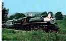 Alleghany Central #1286 RR Train postcard