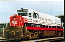 Southern Pacific #6800 RR Train postcard