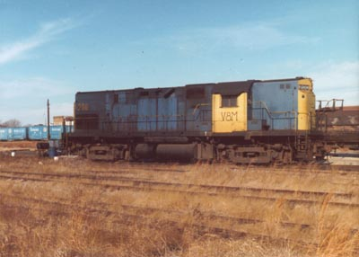 Railroad Train #200, V8M, Photo