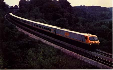 Train PC Via Rail Canada's LRC