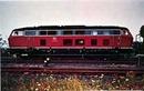 Germany 215 Series RR Train postcard