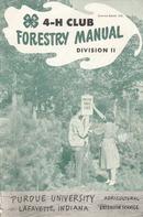 Four  4-H books 1953 & 1954 Purdue