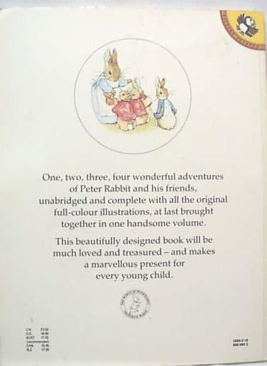 Peter Rabbit by Beatrix Potter Book