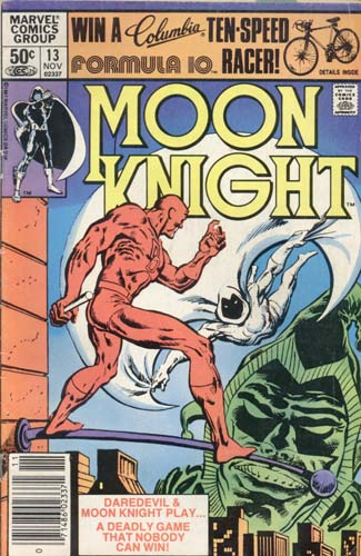 Marvel Comics Moon Knight Nov 1981