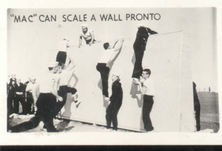 WWII Navy Mini Photo Mac Scales Wall Pronto