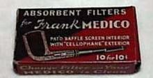 Frank Medico filters 10 for  10cents