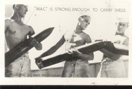 WWII Navy Mini Photo Mac Progress 1943