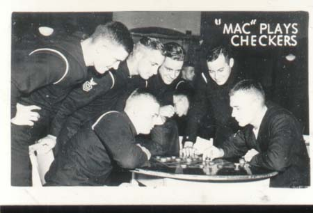 WWII Navy Mini Photo Mac Finds Time To Play