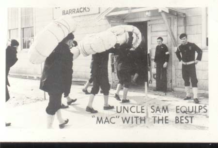 WWII Navy Photo Mac Uncle Sam Equips Best