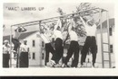 WWII Navy Mini Photo Mac Limbers Up