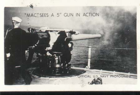 WWII Navy Mini Photo Mac Progress 1943