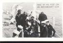 WWII Navy Photo Mac On Anti Aircraft Gun