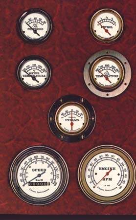 PC Classic Speedometers and Tachometers Adv