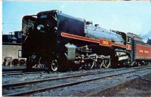 RR Train Canadian Pacific #3101 in Montreal postcard