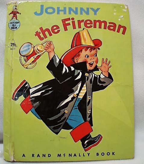 Johnny the Fireman Rand McNally Book