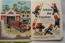 Johnny the Fireman Rand McNally Book