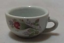 Porcelain Childs Set Mini Cup Budding Rose