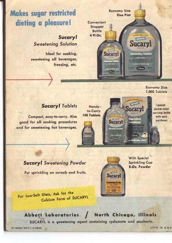 Calorie Saving recipes with Sucaryl.