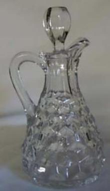 Fostoria American Cruet in Crystal