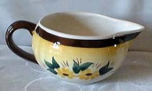 Brown Eyed Susan Gravy Bowl