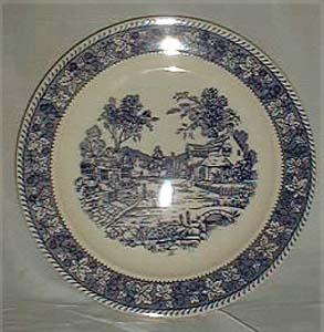 Homer Laughlin Shakespeare Country, Stratwood Chop Plate