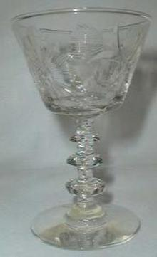 Libbey Rock Sharpe Gloria Wine Goblet