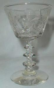 Libbey Rock Sharpe Gloria Wine Goblet